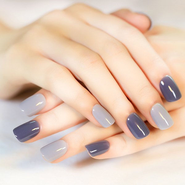 55 Stunning Gray Nail Art Design Ideas