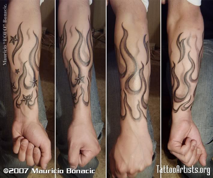 58+ Incredible Flame Tattoos