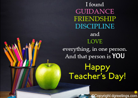 60 best teachers day wish pictures and images i found guidance friendship discipline and love happy teachers day m4hsunfo