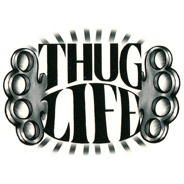 15 Thug Life Tattoo Designs
