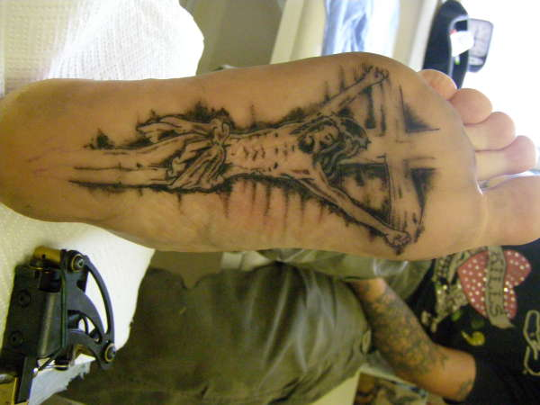 52+ Sole Of Foot Tattoos Collection