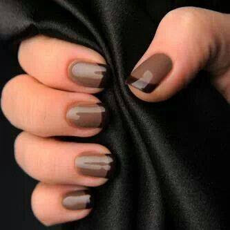50 most beautiful brown nail art ideas. Black Bedroom Furniture Sets. Home Design Ideas