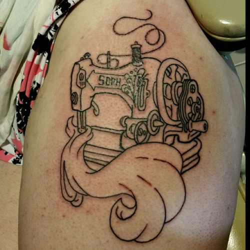 30 Amazing Sewing Tattoos