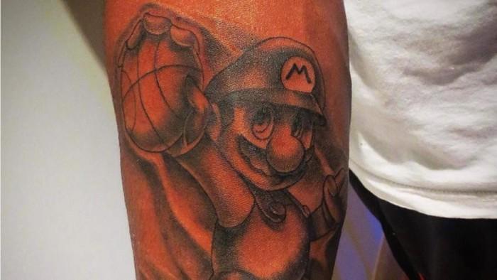 Mario Chamlers Super Mario Tattoo