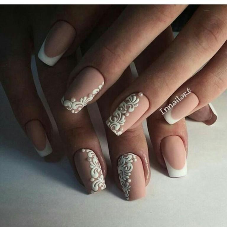 50 Stylish Beige Nail Art Ideas