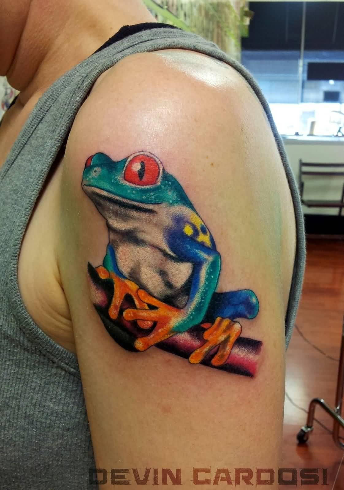 Frog Tattoo Ideas: 32+ Traditional Frog Tattoos