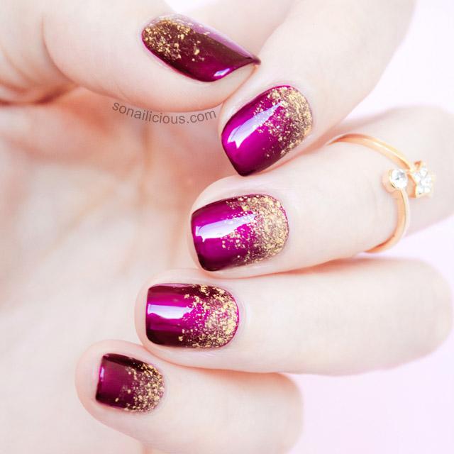 70 Most Stylish Glitter Gradient Nail Art Ideas