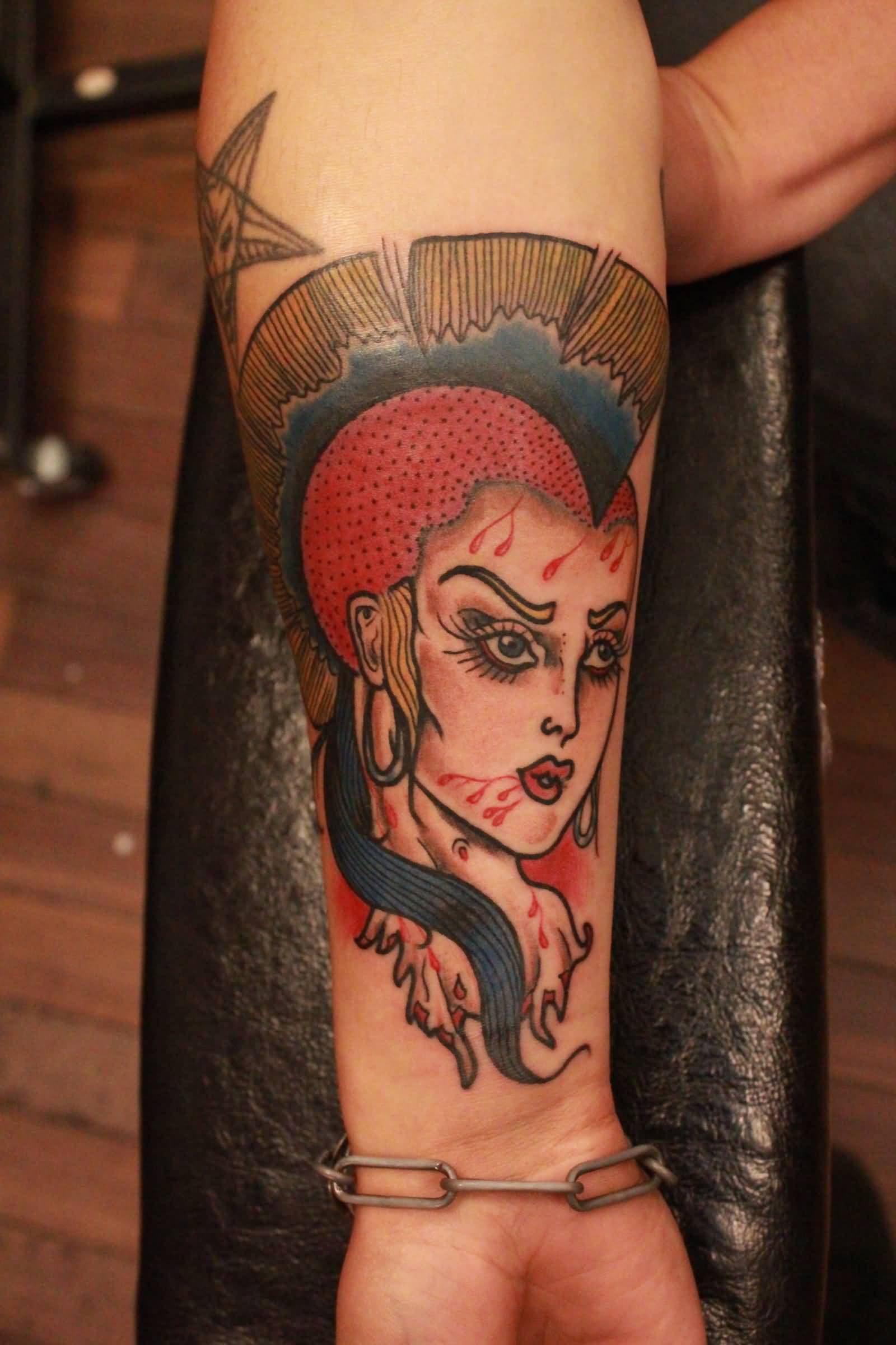 50 Latest Punk Tattoos Collection-8146