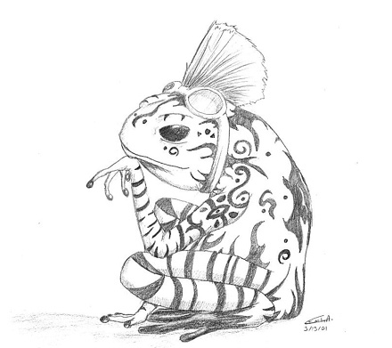 Realistic Tree Frog Drawings 18+ Frog Tattoos Desig...