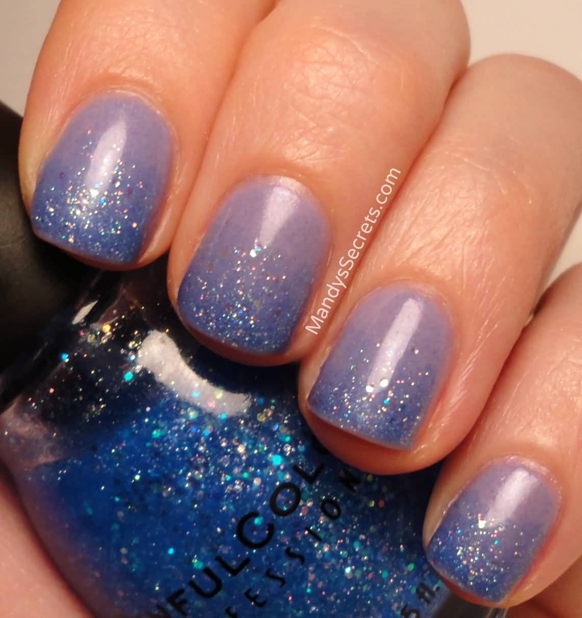 Gradient Nail Art: 70 Most Stylish Glitter Gradient Nail Art Ideas