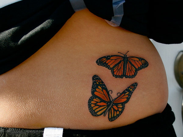 5+ Beautiful Monarch Butterfly Tattoo Designs