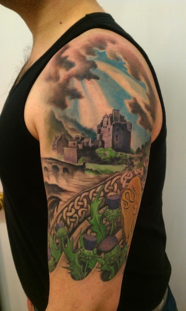 12+ Scottish Tattoos On Half Sleeve
