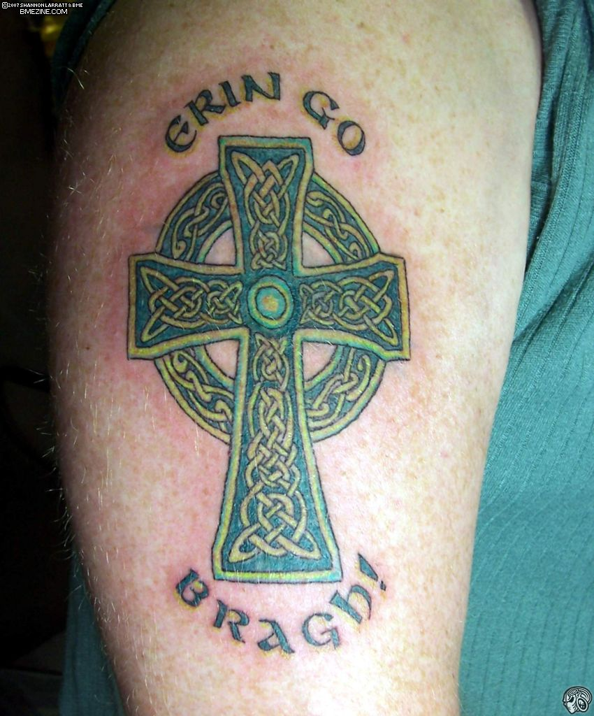 Scottish Celtic Tattoos For Men: 18+ Scottish Tattoos On Shoulder