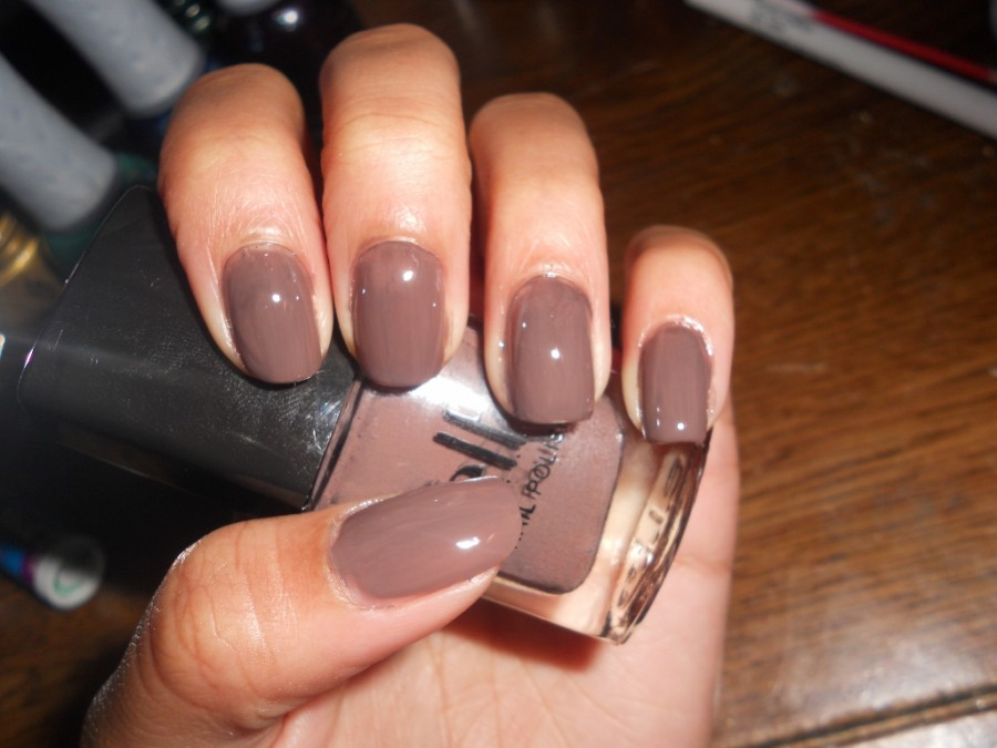 Brown nails design graham reid simple brown nail art design 50 most beautiful brown nail art ideas prinsesfo Image collections