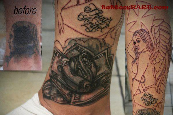 45 amazing thug life tattoos and ideas. Black Bedroom Furniture Sets. Home Design Ideas