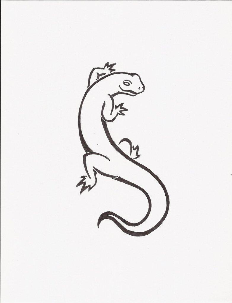 18+ Latest Salamander Tattoo Drawings