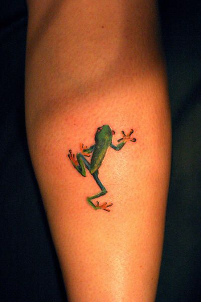 57 incredible frog tattoos and ideas. Black Bedroom Furniture Sets. Home Design Ideas