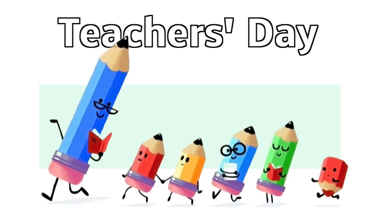 Teachers day pencils clipart altavistaventures Choice Image