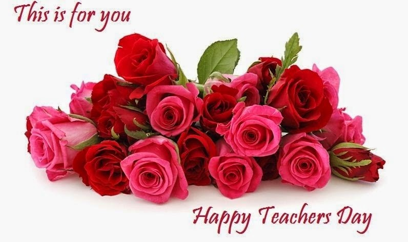This Is For You Happy Teachers Day Rose Flowers Bouquet