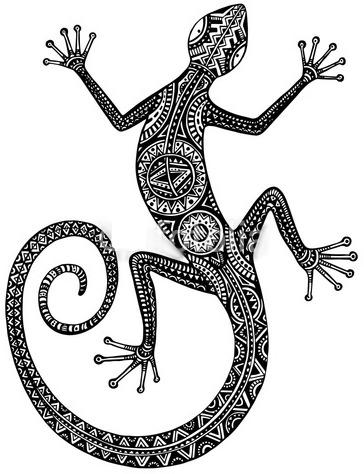 23+ Salamander Tattoos Designs