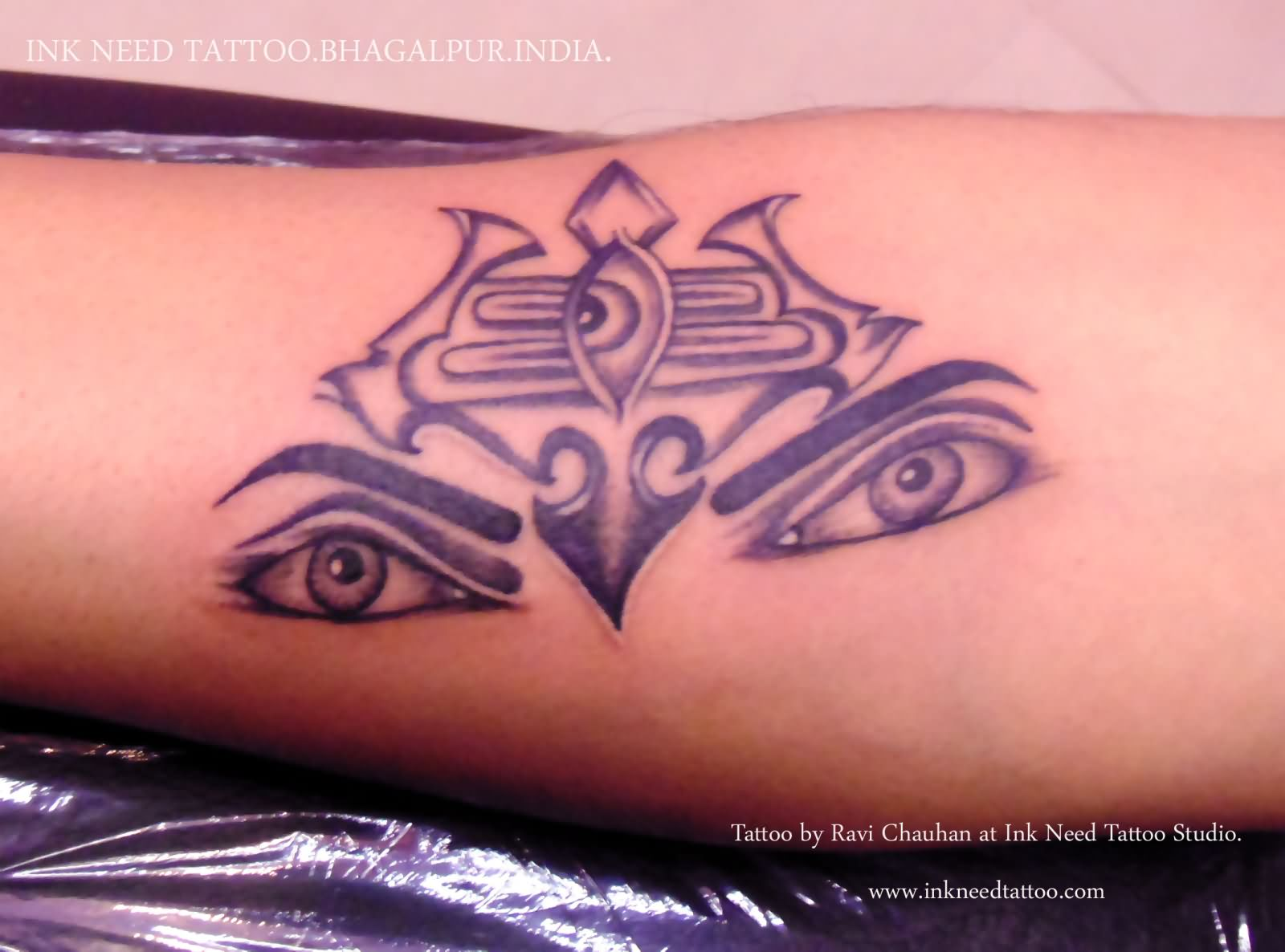 222c23b78 12 Colorful Shiva Tattoo Images, Pictures And Design Ideas