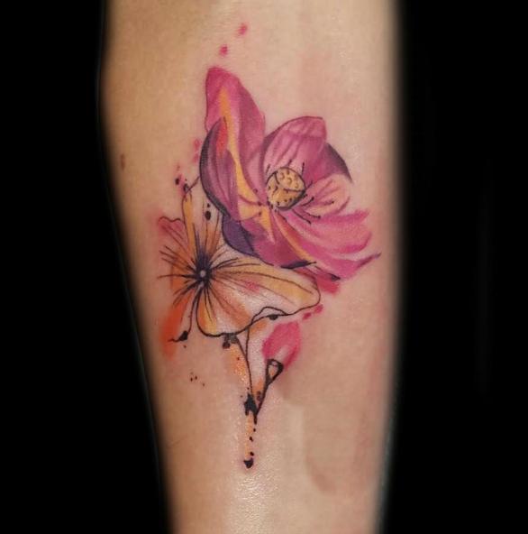 Askideas Com: Flower Tattoos