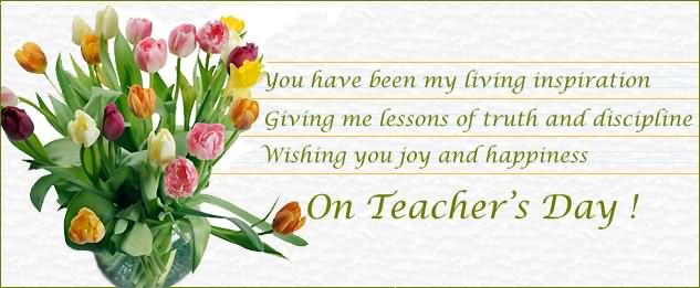 Wishing You Joy And Happiness On Teachers Day