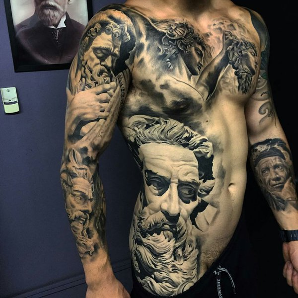 52 incredible latino tattoos. Black Bedroom Furniture Sets. Home Design Ideas