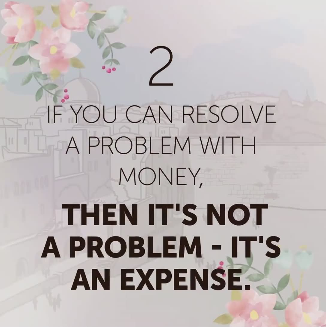 What would you do if Money were not an Issue?