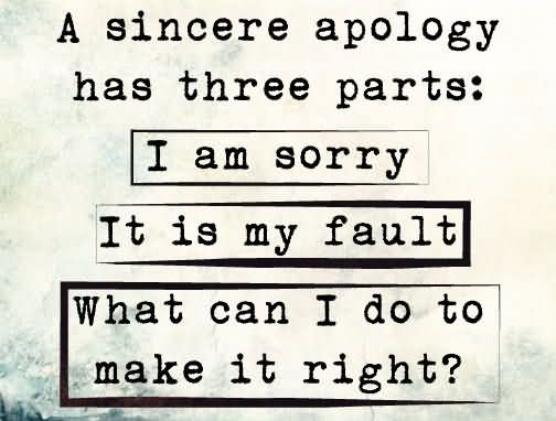 63 Best Apology Quotes Sayings
