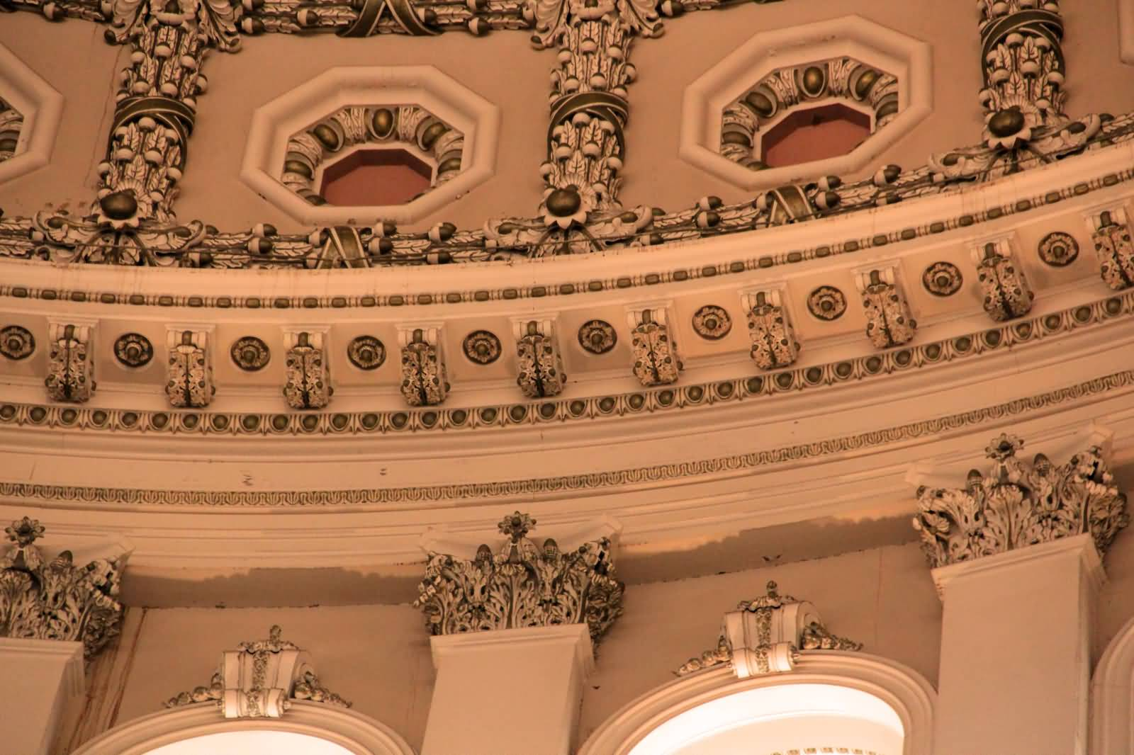 Adorable Architecture Inside The United States Capitol