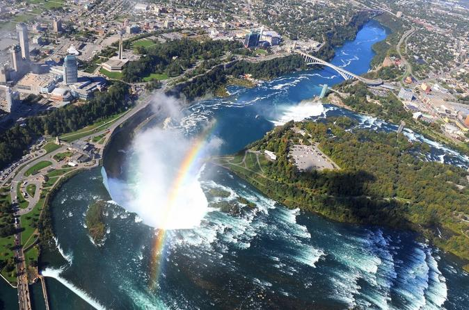 how to visit niagara falls from canada