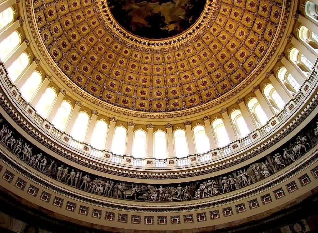 Amazing Architecture Inside United States Capitol