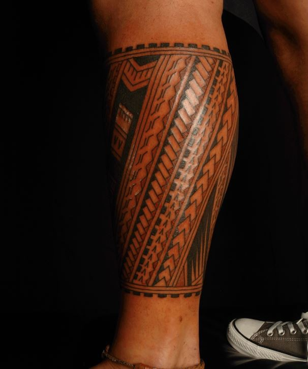 30 maori leg tattoos ideas. Black Bedroom Furniture Sets. Home Design Ideas
