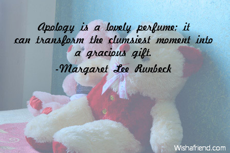 Forgiveness without apology quotes