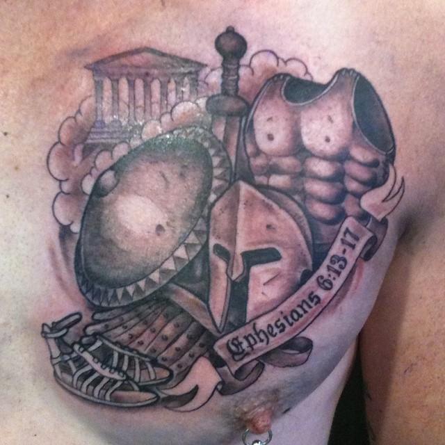 Tattoo Ideas God: 25+ Armor Of God Tattoos