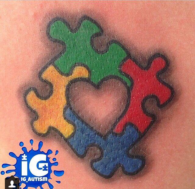 33+ Autism Puzzle Tattoo