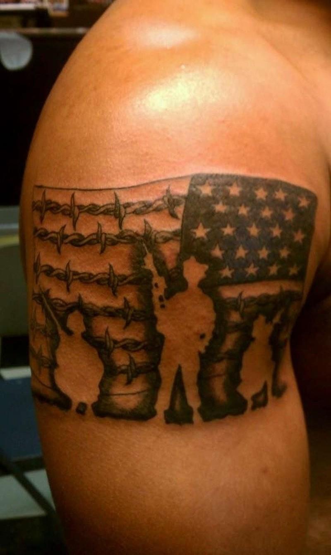 20+ Us Flag Tattoo Designs