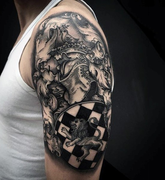 60+ Wonderful Armor Tattoos
