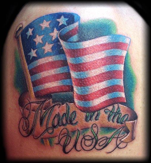 Tattoo Designs Usa: 20+ Us Flag Tattoo Designs