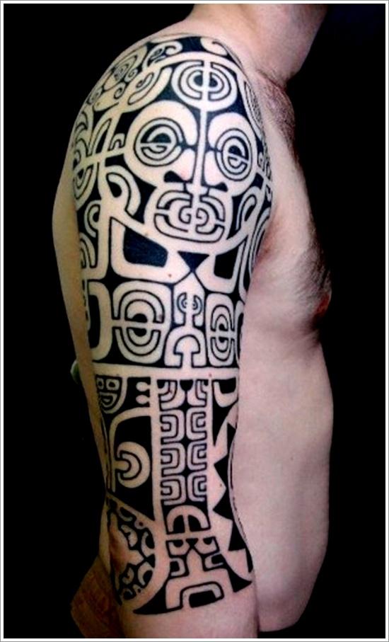 Maori Tribal Tattoos Full Body: 30+ Maori Arm Tattoos Collection