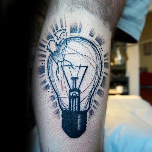8 Glass Shards Tattoos
