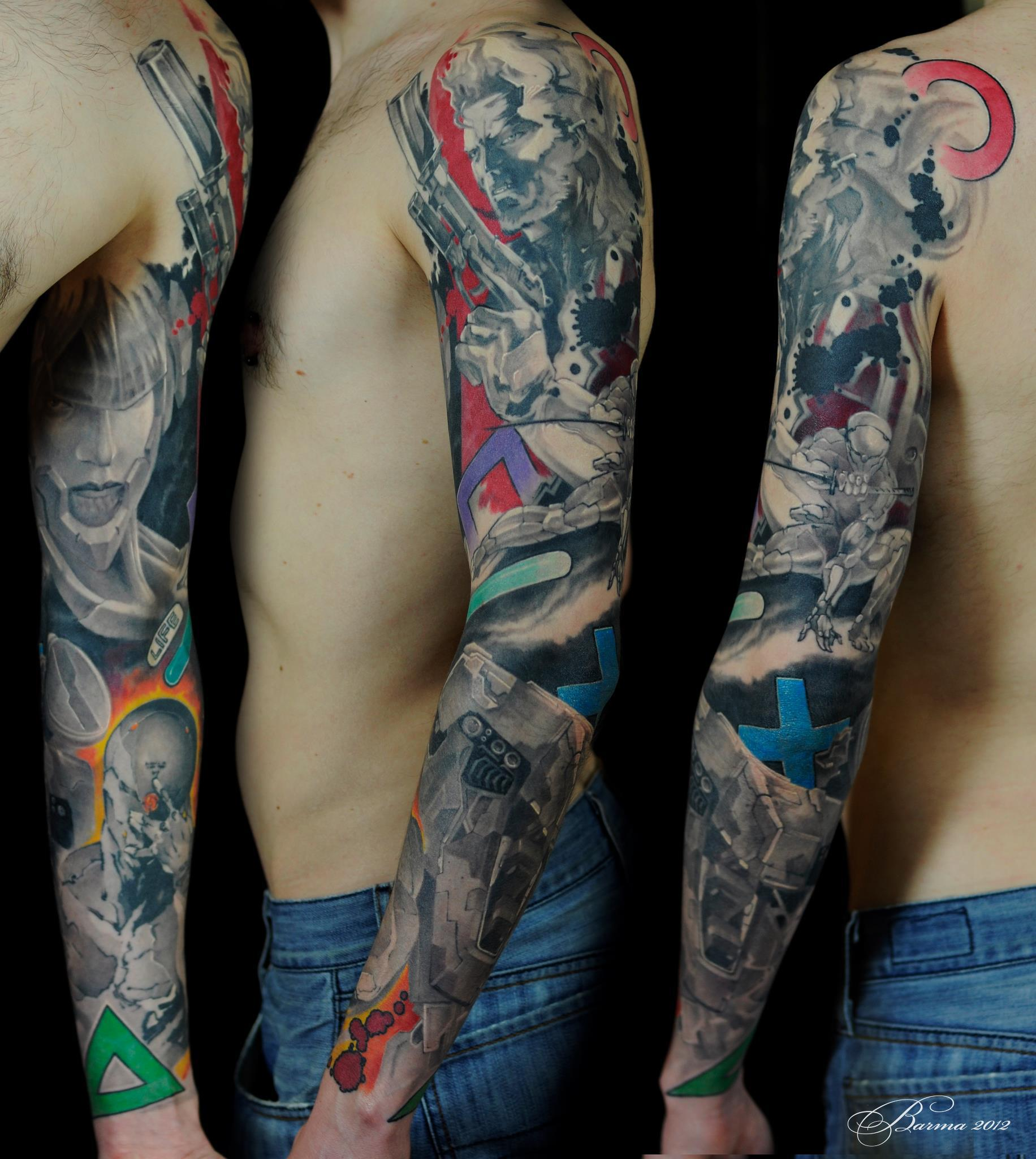 52 best anime tattoos. Black Bedroom Furniture Sets. Home Design Ideas