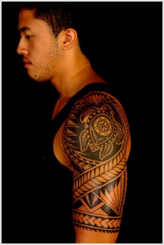 Arm Maori Tattoo