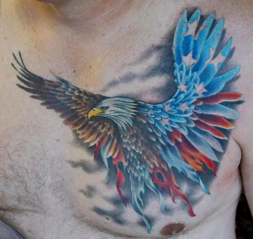 36+ Patriotic Eagle Tattoos
