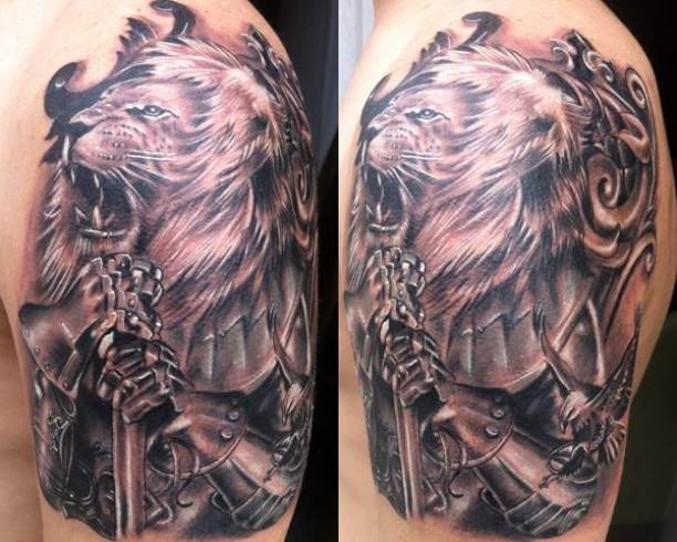 60 wonderful armor tattoos