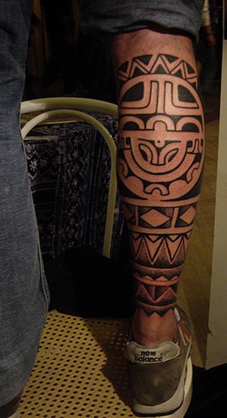 30 maori leg tattoos ideas. Black Bedroom Furniture Sets. Home Design Ideas