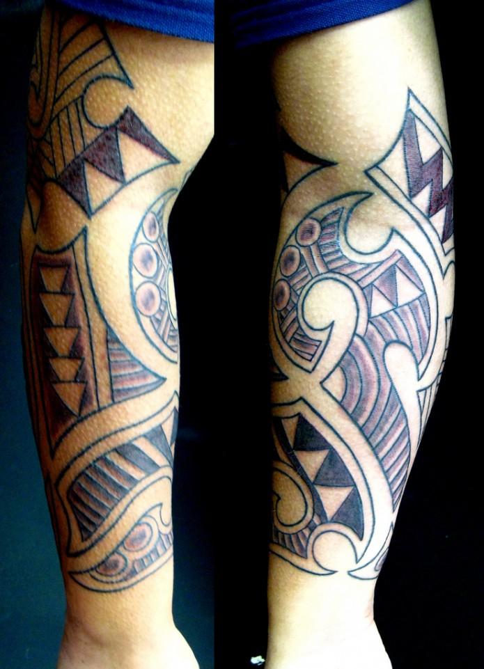 30+ Maori Arm Tattoos Collection