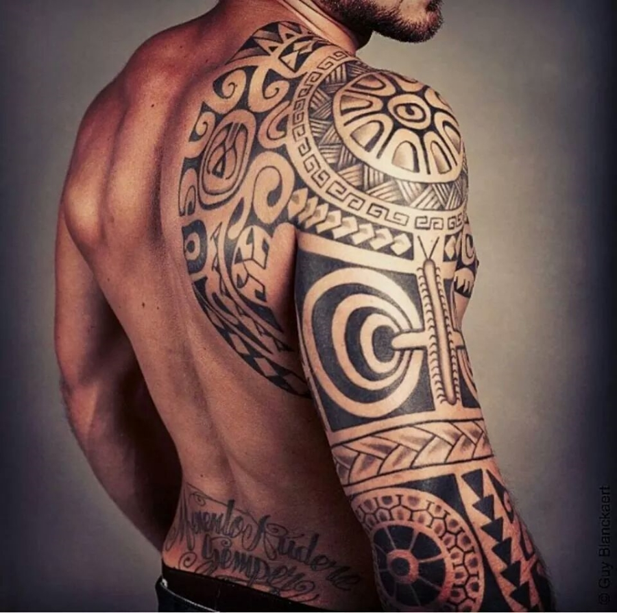 45 amazing maori tattoos. Black Bedroom Furniture Sets. Home Design Ideas