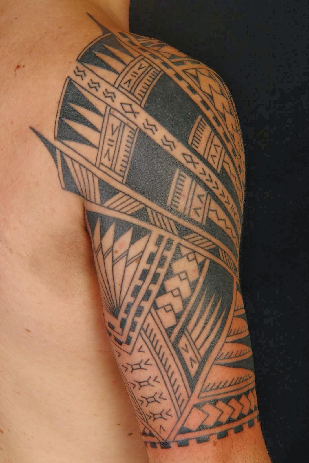 Maori Lower Arm Band Tattoo: 30+ Maori Arm Tattoos Collection